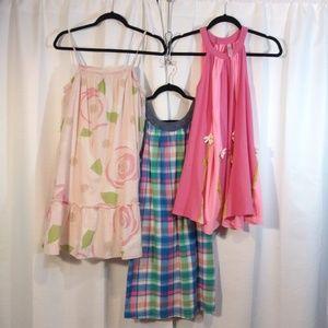 Bundle of 3 Girl Summer Dresses / GAP, Lands' End